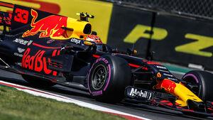 Max Verstappen - Red Bull - GP Mexiko 2017 - Formel 1