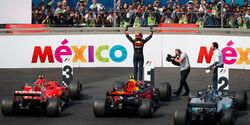 Max Verstappen - Red Bull - GP Mexiko 2017 - Rennen
