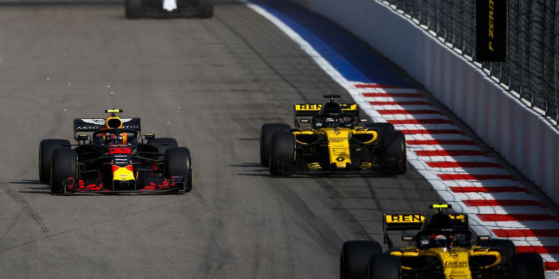 Max Verstappen - Red Bull - GP Russland 2018