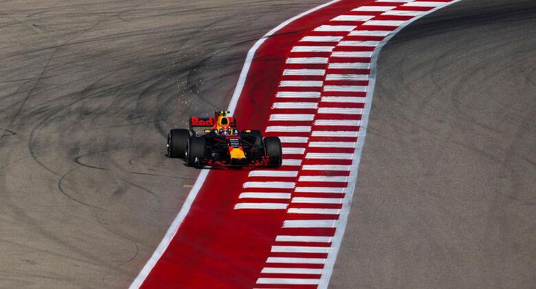 Max Verstappen -Red Bull - GP USA 2017