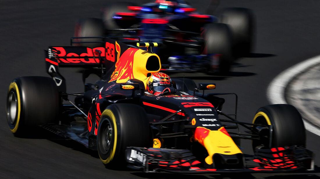 Max Verstappen - Red Bull - GP Ungarn 2017 - Budapest - Rennen