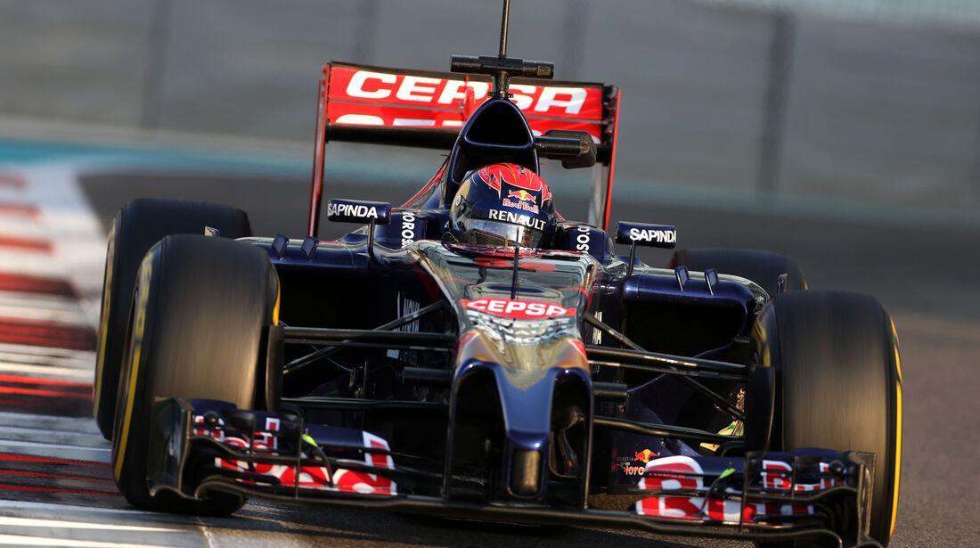 Max Verstappen - Toro Rosso - Formel 1 Test - Abu Dhabi - 25. November 2014