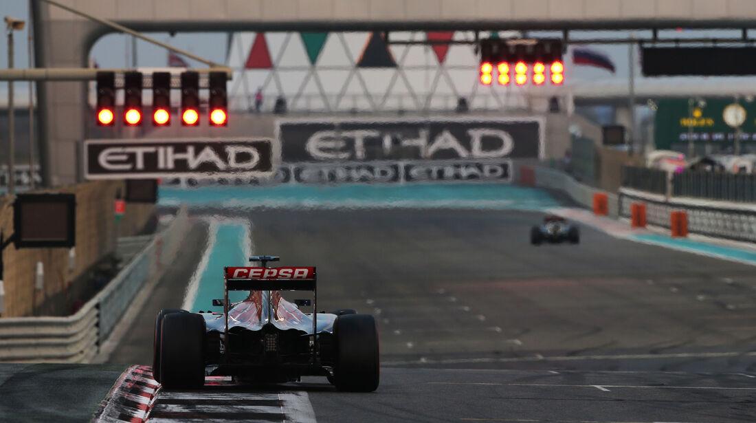 Max Verstappen - Toro Rosso - GP Abu Dhabi - 28. November 2015