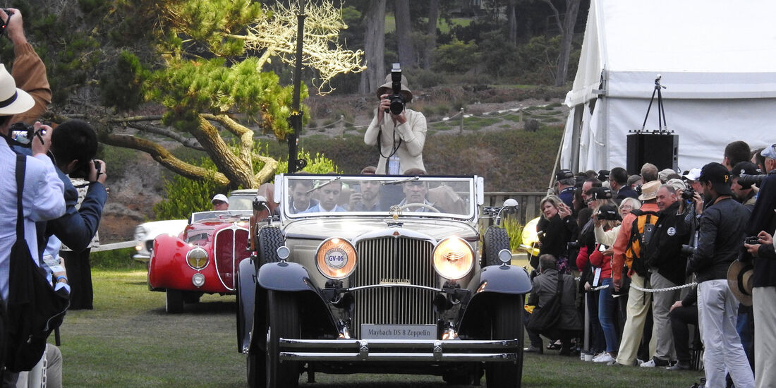 Maybach DS 8 Zeppelin - Pebble Beach Concours d'Elegance 2016