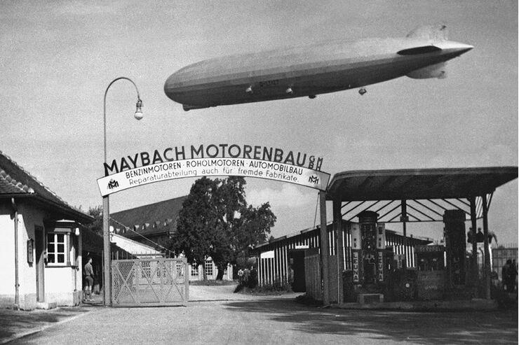 maybach: 100 jahre maybach-motorenbau - auto motor und sport