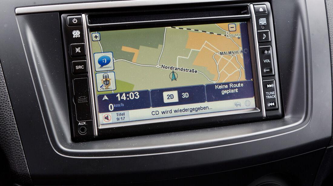 Mazda 3 2.2 MRZ-CD, Navi, Bildschirm