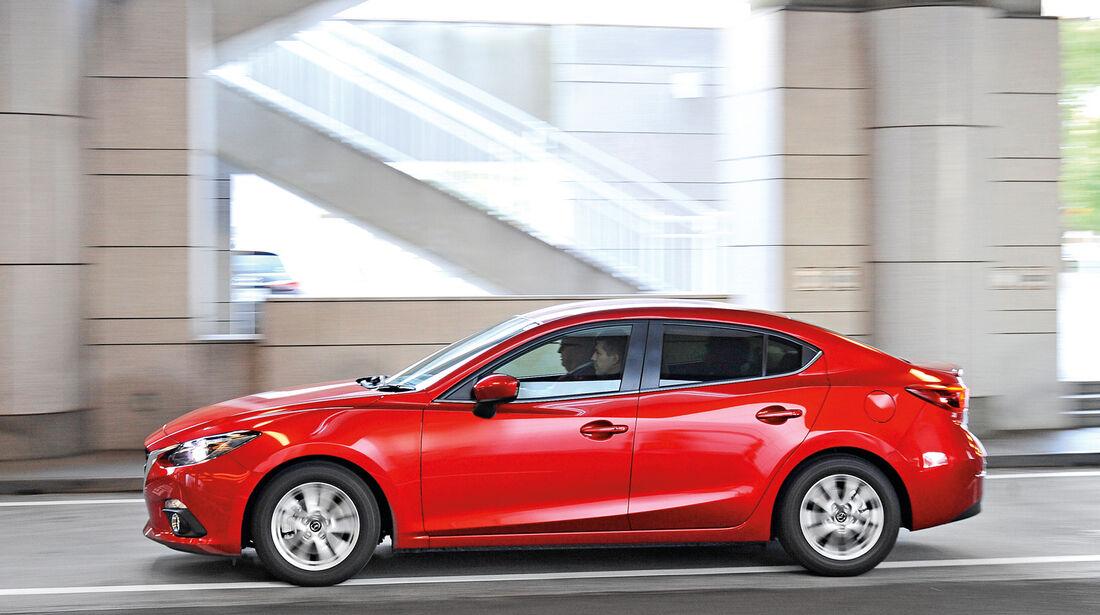 Mazda 3 Hybrid, Seitenansicht