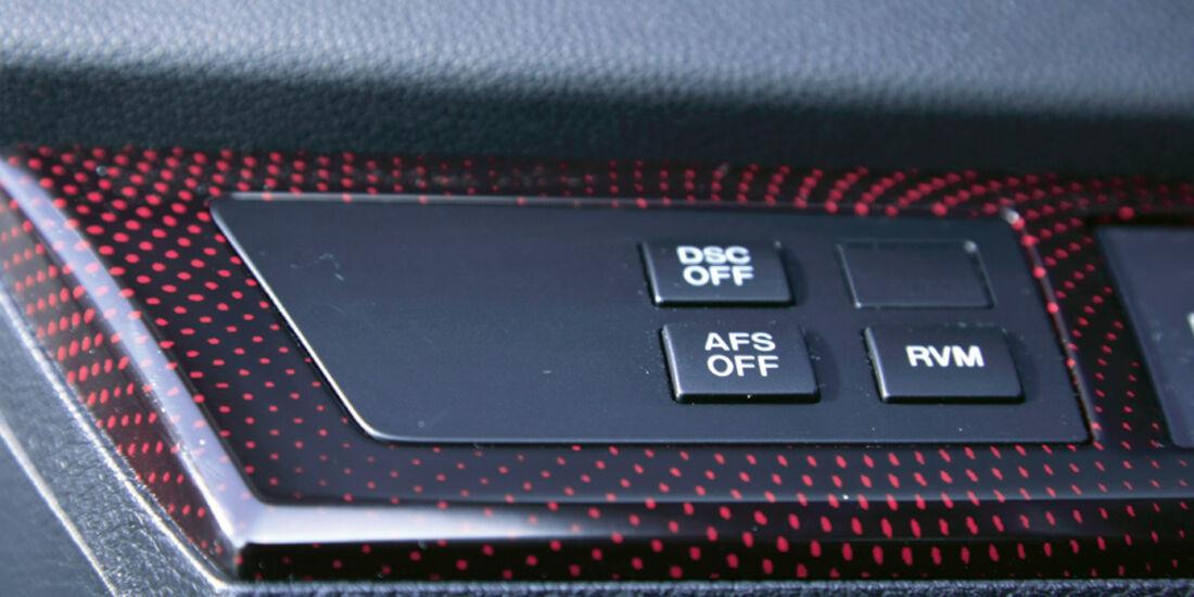Mazda 3 MPS, Detail, Innenraum