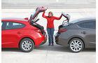 Mazda 3, Modellvarianten, Heckklappe