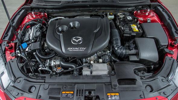 Mazda 3 Skyactiv-D 150, Motor