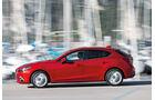 Mazda 3 Skyactiv G 120, Seitenansicht