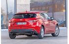 Mazda 3 Skyactiv-G 165, Heckansicht