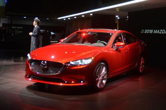 Mazda 6 Facelift 2018