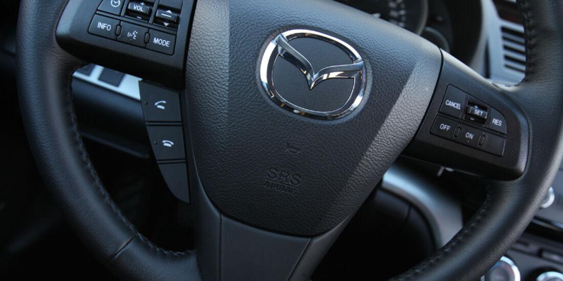 Mazda 6 Kombi 2.2, Lenkrad