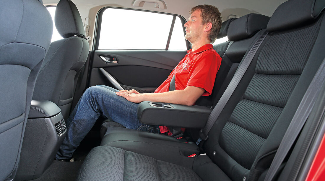 Mazda 6 Kombi D 150, Fondsitz