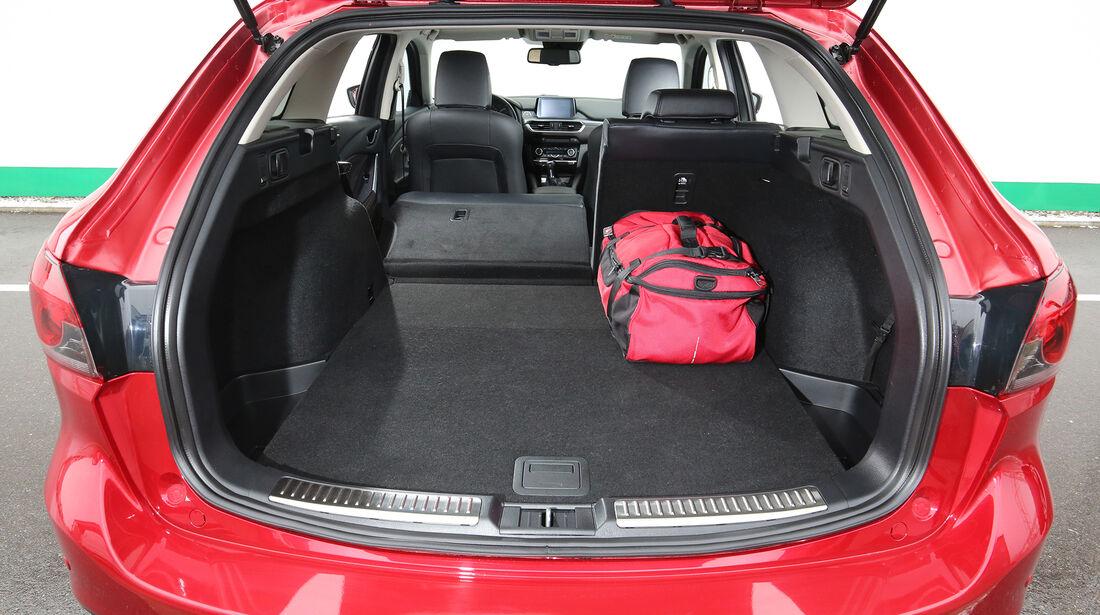 Mazda 6 Kombi, Kofferraum