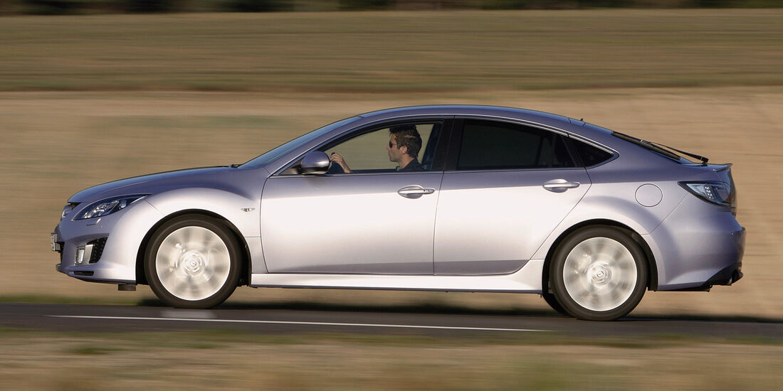 Mazda 6, Seitenansicht
