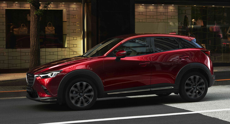 mazda cx 3 facelift 2018 fotos daten marktstart preis auto motor und sport. Black Bedroom Furniture Sets. Home Design Ideas