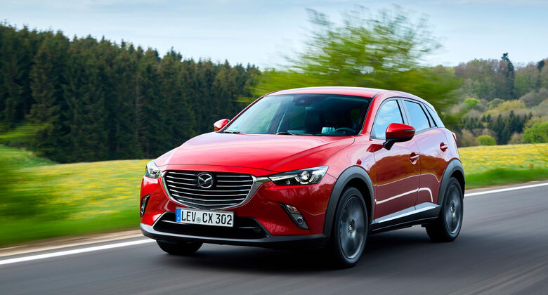 Mazda CX-3 Facelift 2017
