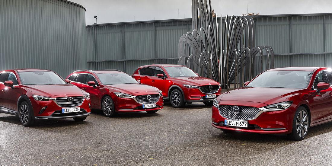 Mazda CX-3, Mazda CX-5, Mazda 6, Exterieur