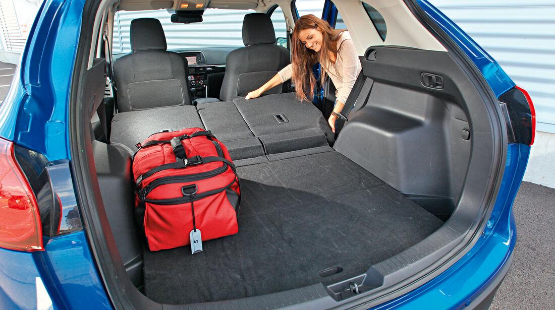 Mazda CX-5 2.0 Skyactiv-G AWD, Ladefläche