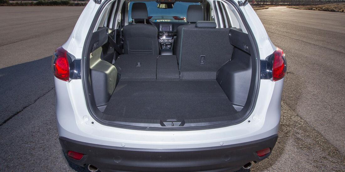 Mazda CX-5 D 150, Kofferraum, Ladefläche