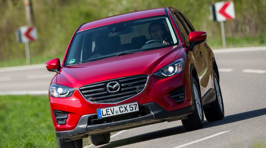 Mazda CX-5, Frontansicht