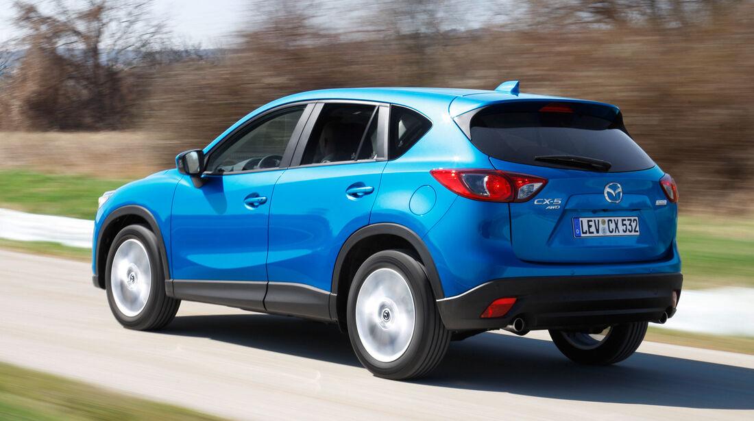 Mazda CX-5, Heckansicht