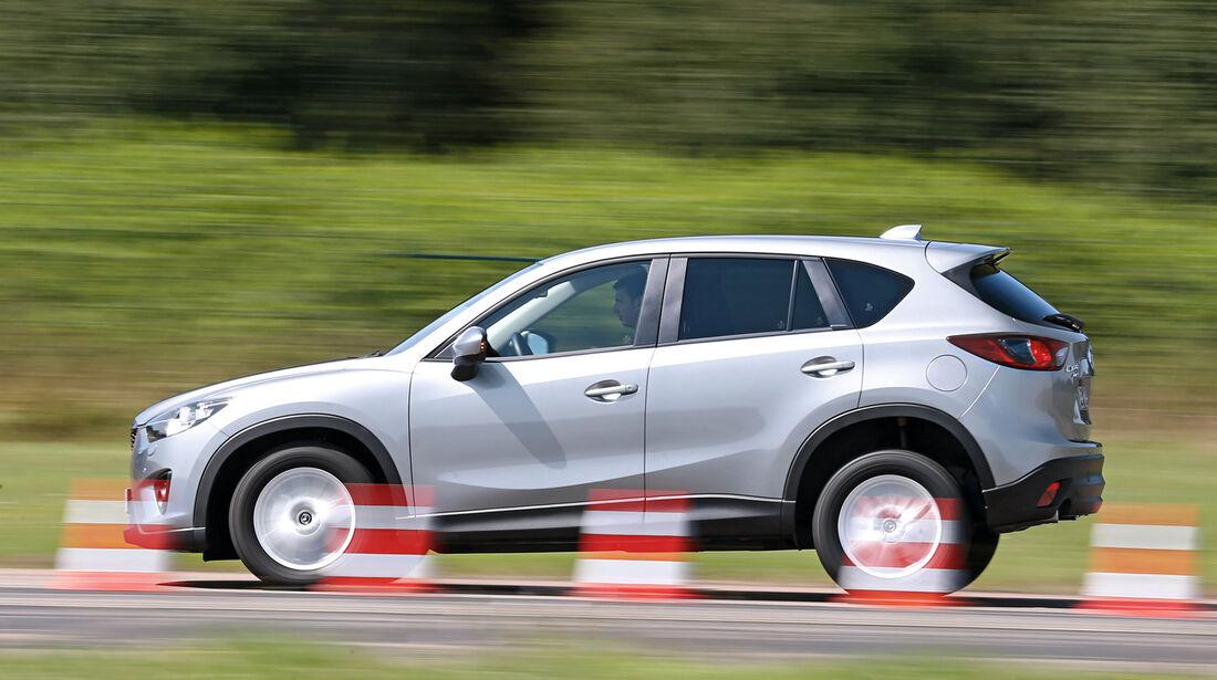 Mazda CX-5 Skyactiv-D 4WD Centerline, Bremstest