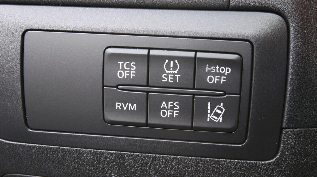 Mazda  CX-5 Skyaktiv-D AWD Sports-Line, Bedienelemente, Assistenz