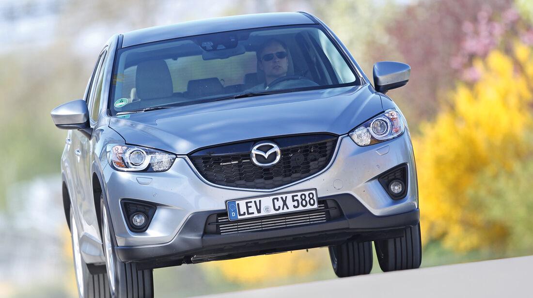 Mazda  CX-5 Skyaktiv-D AWD Sports-Line, Frontansicht