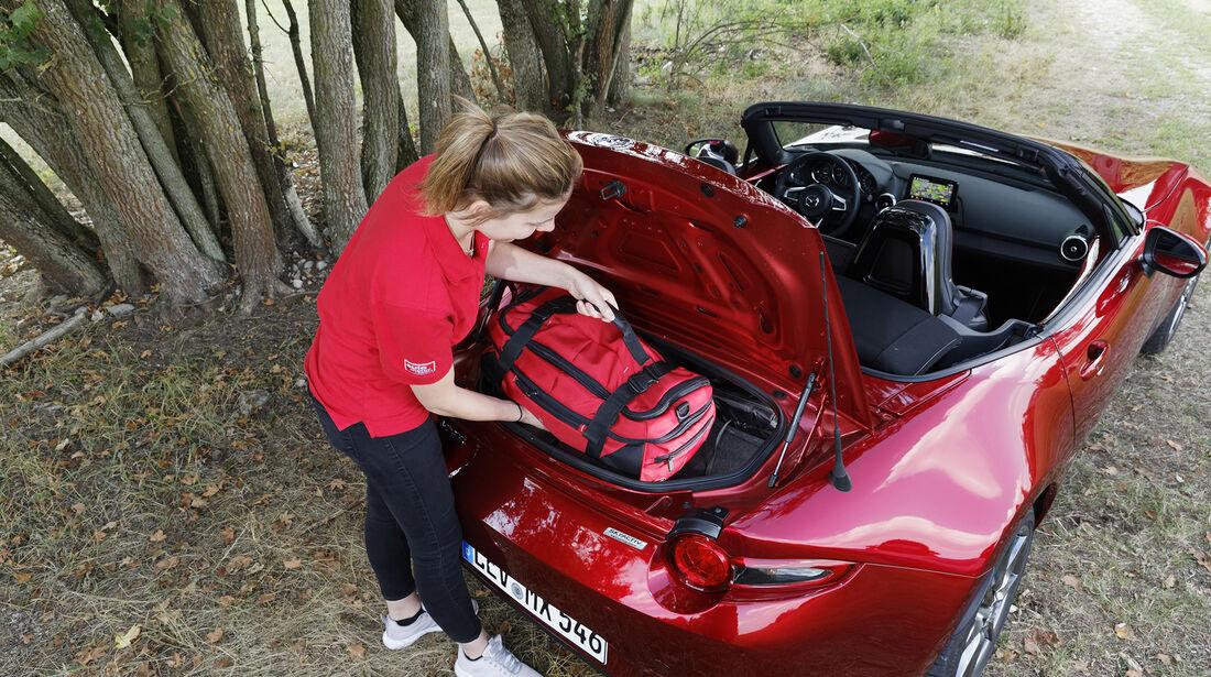 Mazda MX-5 G 184, Kofferraum