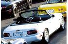Mazda MX-5 Miata NA weiß