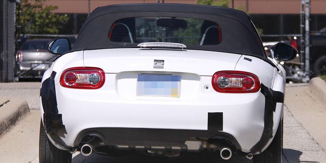 Mazda MX-5 Mule Erlkönig