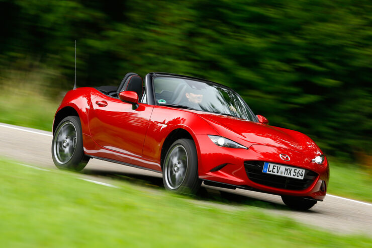 mazda mx 5 skyaktiv g 160 im test auto motor und sport. Black Bedroom Furniture Sets. Home Design Ideas