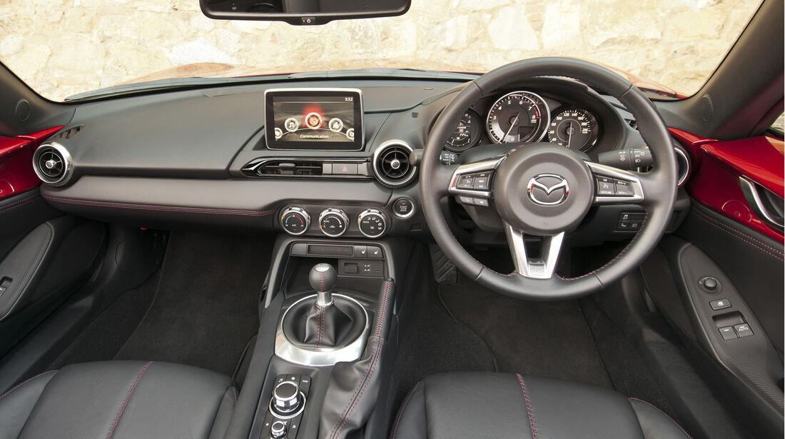 Mazda MX-5, ams, Fahrbericht, Cockpit