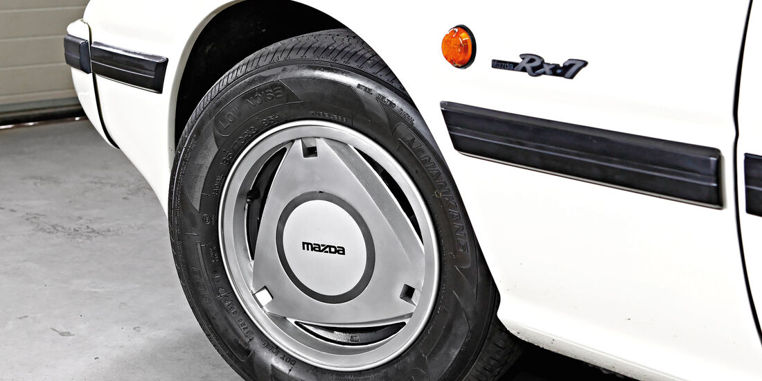 Mazda RX-7, Rad, Felge