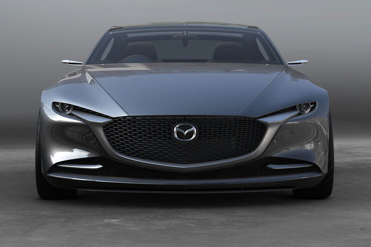 mazda vision coup tokio studie zum neuen mazda 6 auto motor und sport. Black Bedroom Furniture Sets. Home Design Ideas