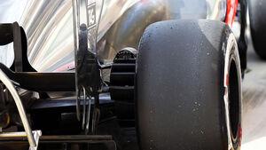 McLaren 2013 Hinterreifen