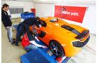 McLaren 650S Spider, Prüfstand