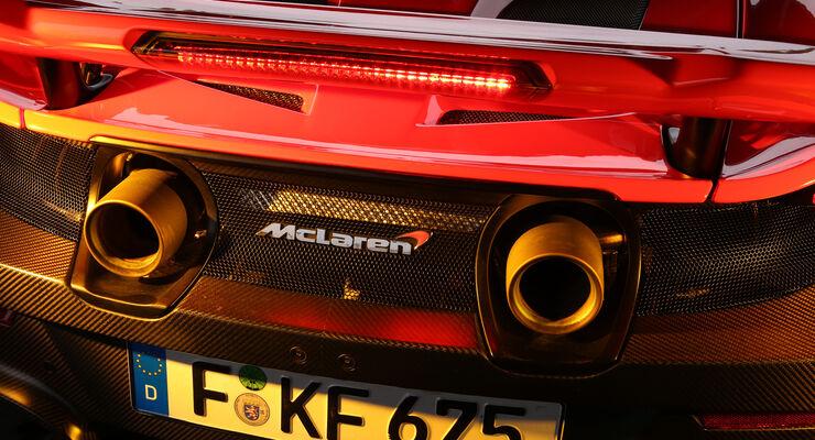 mclaren track25-plan: 18 neue bis 2025 - auto motor und sport