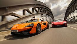 McLaren 675LT und 570S, Frontansicht