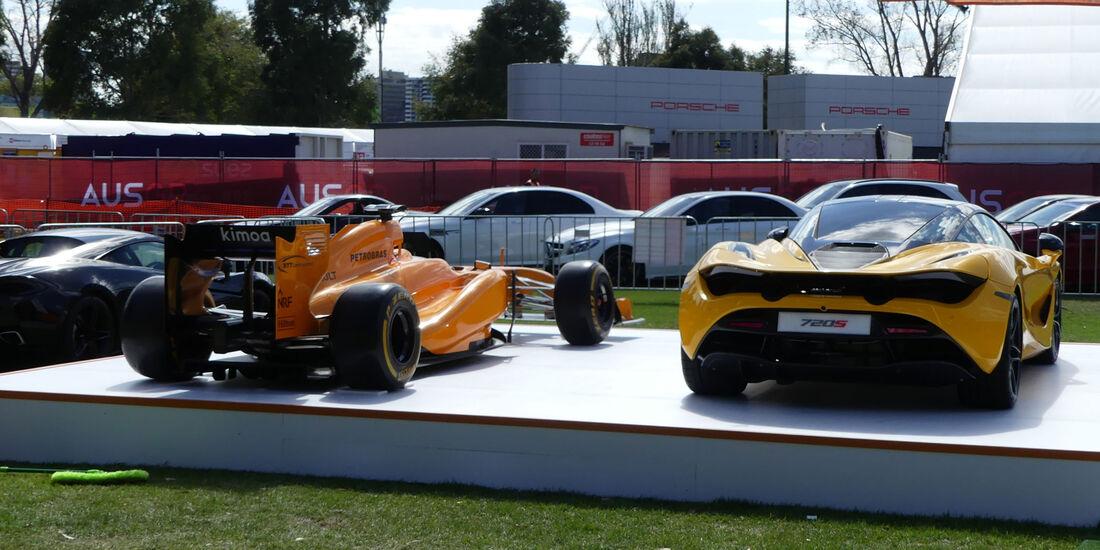 McLaren 720S - GP Australien 2018 - Melbourne - Albert Park - Mittwoch - 21.3.2018