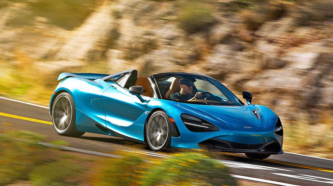 McLaren 720S Spider - Serie - Cabrios ueber 150000 Euro - sport auto Award 2019