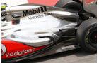 McLaren Auspuff GP Spanien 2012