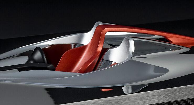 McLaren BP23 Innenraumskulptur