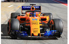 McLaren - Barcelona F1-Test 2018