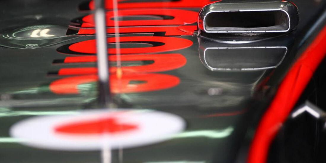 McLaren F-Schacht