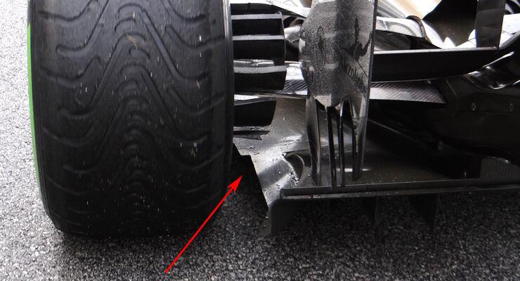 McLaren F1 Technik 2013