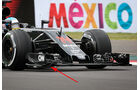 McLaren - F1 Technik - GP Mexiko 2016